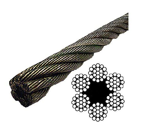 Hardened Steel Wire Rope